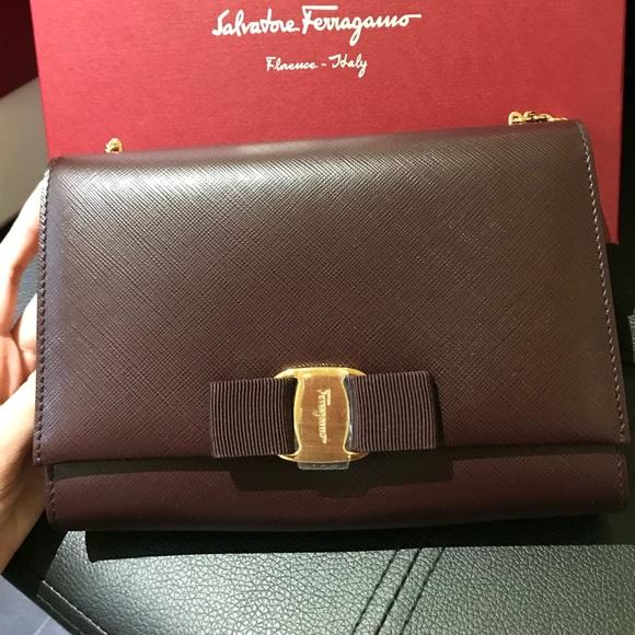 Salvatore Ferragamo Handbags - SOLD New Salvatore Ferragamo Woc
